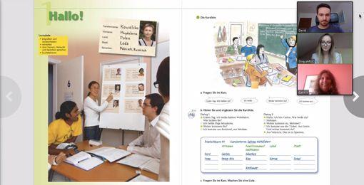 Elonline Deutschkurs Online Screenshot