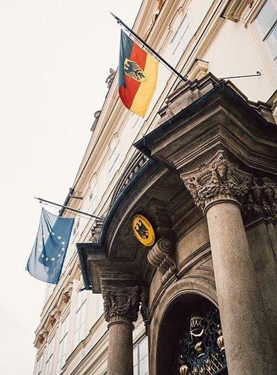 Deutsch Europa Flaggen Abendkurse