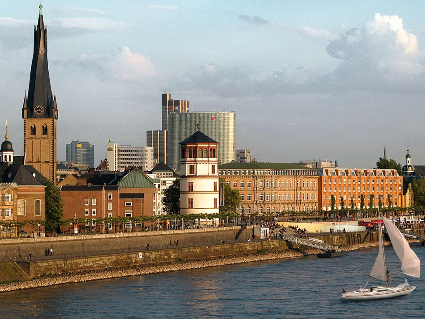 Düsseldorf Skyline Deutschkurse